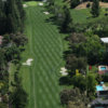 Aerial view of the 4th fairway at Round Hill Golf & Country Club