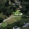 Aerial view of the 7th hole at Round Hill Golf & Country Club