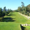 A view of fairway #12 at La Canada Flintridge Country Club
