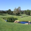 A view of a tee at Woodland Hills Country Club.