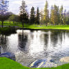 A view over a pond at Glendora Country Club