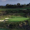 A view of a hole at Ocean North from Pelican Hill Golf Club