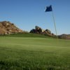 A view of a hole at Mountain from Moreno Valley Ranch Golf Club