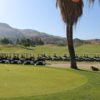 A view of the practice area at Moreno Valley Ranch Golf Club