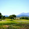 A sunny day view from StoneTree Golf Club.
