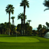 A view of a green at Indian Palms Golf & Country Club