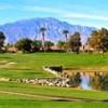 A view from a tee at Palm Desert Resort Country Club