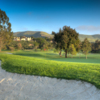 View of the 18th hole at San Juan Hills Golf Club