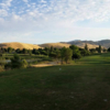 A view from a tee at Lone Tree Golf Course