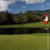 A view from a green at Birnam Wood Golf Club