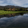 A view over the water from Birnam Wood Golf Club