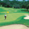 A view of a hole at Laguna Seca Golf Club