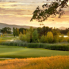 A view of the 5th green at Greenhorn Creek Golf Course