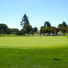 A view of the practice area at Diablo Creek Golf Course