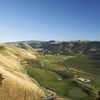 Aerial view from Course at Wente Vineyards