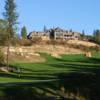 A view of the clubhouse at Winchester Country Club