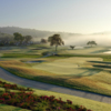 View from no.18 on Champions Course at Omni La Costa Resort & Spa
