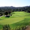 A view of green #12 at Mt. Woodson Country Club