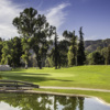 A view over the water from Harding at Griffith Park Golf Courses
