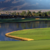 A view over the water from PGA West Tom Weiskopf