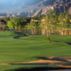 A view of a tee at PGA West Tom Weiskopf