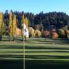 A view from a green at Lake Arrowhead Country Club