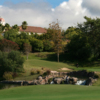 A view of a hole at Spanish Hills Golf & Country Club.