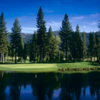 A view of the 9th green at Whitehawk Ranch Golf Club.