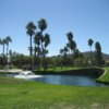 A sunny day view from Sun Lakes Country Club.