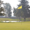 A view of a hole at River Oaks Golf Course.