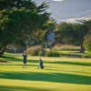 A view of a tee at Pismo Beach Golf Course (Weston Neuschafer Photography).