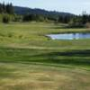 A view from a tee at Snowcreek Golf Course.