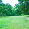 A view of hole #4 from the tee at Allen's Golf Course.