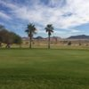 A view of a green at Desert Winds Golf Course.