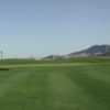 A view of a hole at Desert Winds Golf Course.
