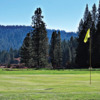 A view of a hole at Big Trees Golf Course (Travelyosemite)