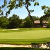 A view of the well protected green #4 at Valley from North Ranch Country Club.