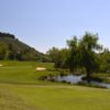 A view of the 2nd hole at Lakes from North Ranch Country Club.