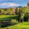 A view from a tee at Twin Oaks Golf Course.