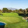 A view of a green at Temecula Creek Inn Golf Resort.