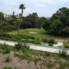 A view of a green at Town Park Villas Golf Course (