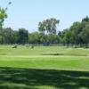 A view of a green at El Dorado Park Golf Club.