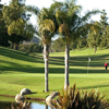A sunny day view from the Country Club of Rancho Bernardo.