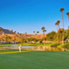 A view from Omni Rancho Las Palmas Resort.