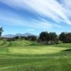 A view of a green at Tijeras Creek Golf Club.