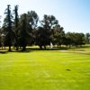 A view of a hole at Griffith Park Golf Courses.