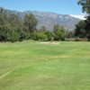 A view from tee #11 at Ojai Valley Inn & Spa.