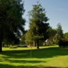 A view of a green at Rancho Park Par-3 Golf Course.