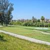 A view of hole #12 t Riverside of Fresno Golf Course.