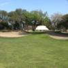 A view of a well protected green at Willowick Golf Course.